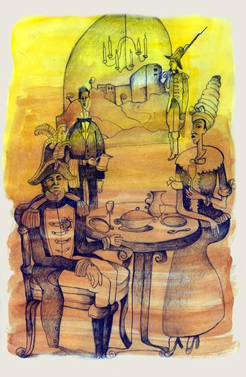 Janot le cuisinier du roi l 39 espace libre de sami chaiban for Cuisinier xviii