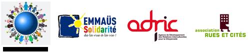 Comité scientifique : CASNAV de Créteil, Emmaüs Solidarité, Rues et Cités et l'ADRIC