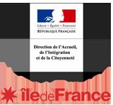Direction de l'accueil, de l'intégration et de la citoyenneté (ministère de l'Intérieur) et Région Île-de-France